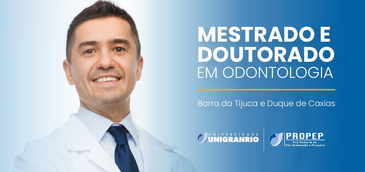 Mestrado e Doutorado em Odontologia
